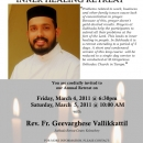 Annual Church Retreat with Fr. Geevarghese Vallikkattil